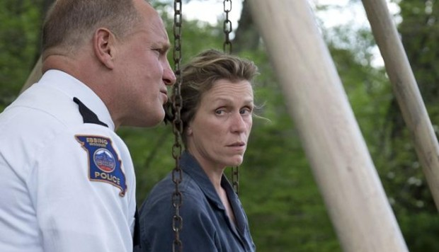 "Escena de ""Three Billboards Outside Ebbing, Missouri"""
