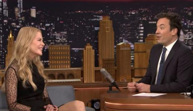 Nicole Kidman incomoda a Jimmy Fallon con confesión [VIDEO]