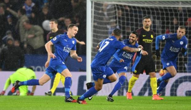 Manchester City cayó 4-2 ante Leicester City por Premier League