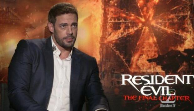 William Levy: Ser parte de 'Resident Evil' es una locura
