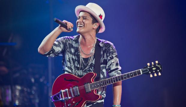 Bruno Mars se despidió de su exitosa gira Moonshine Jungle
