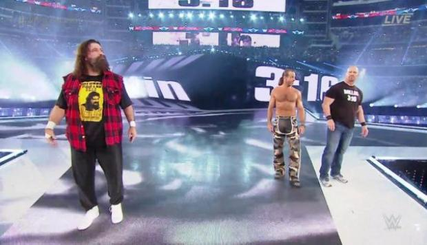 Wrestlemania: Mick Foley, Stone Cold y Shawn Michaels volvieron