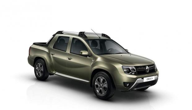 lleg la primera pick up de renault duster oroch video ruedas y tuercas automotriz el. Black Bedroom Furniture Sets. Home Design Ideas