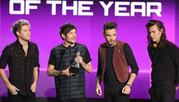 American Music Awards: los One Direction triunfaron en la gala