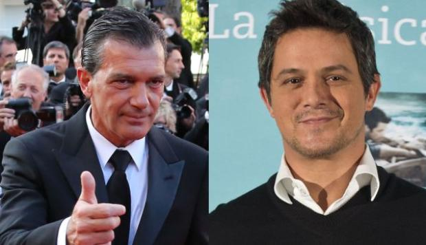YouTube: Alejandro Sanz felicitado por Banderas por este video