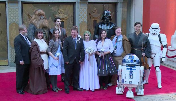 Star Wars: Una boda galáctica [VIDEO]