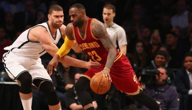 NBA: mira este espectacular contragolpe de LeBron James [VIDEO]