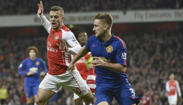 Arsenal vs. Manchester United: el autogol de Gibbs [VIDEO]
