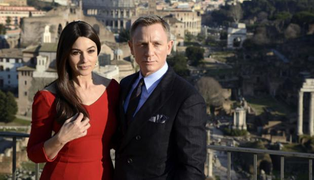 James Bond se adueña de Roma en Spectre