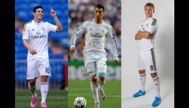 Con Cristiano, James y Kroos el Madrid busca la Supercopa