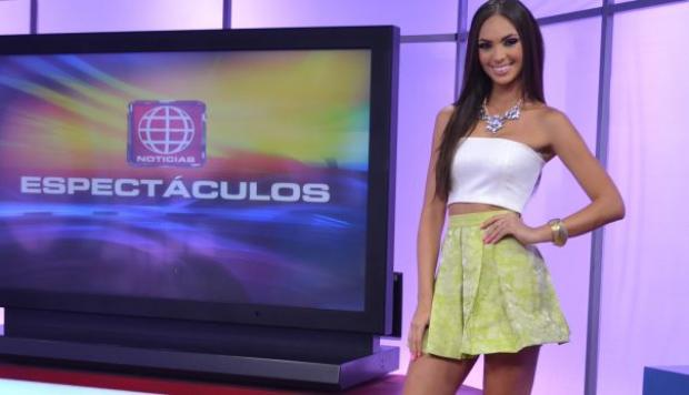 Natalie v rtiz debut como conductora de espect culos tv for Noticias actuales de espectaculos