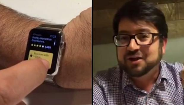 YouTube: compró un Xbox One al maniobrar un Apple Watch