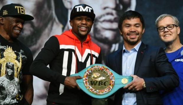 Floyd Mayweather vs. Manny Pacquiao: los millones del combate