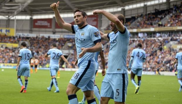 Manchester City derrotó 4-2 al Hull City por la Premier League