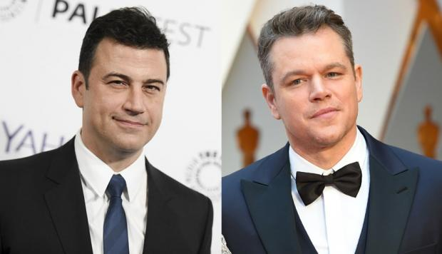 La cruel broma de Jimmy Kimmel a Matt Damon en el Oscar [VIDEO]