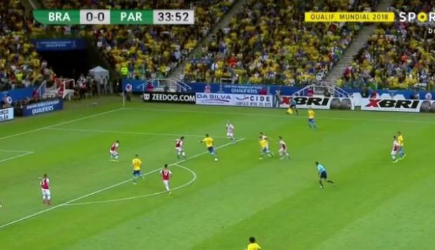 Golazo de Brasil: pared, taco y definición perfecta [VIDEO]