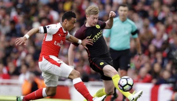 Arsenal empató 2-2 ante Manchester City por la Premier League