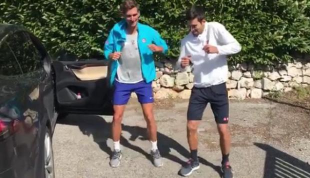 "Novak Djokovic bailando al ritmo de ""Despacito"" [VIDEO]"