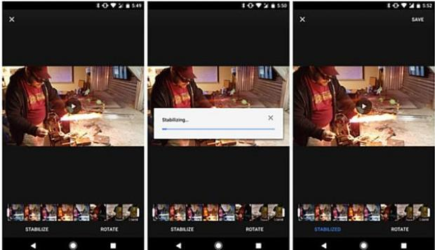 Google Fotos ahora permite estabilizar videos en Android - 2