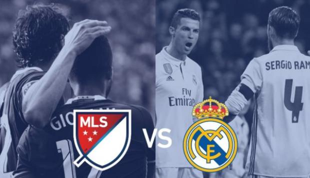 Real Madrid jugará en agosto el All Star Game de la MLS