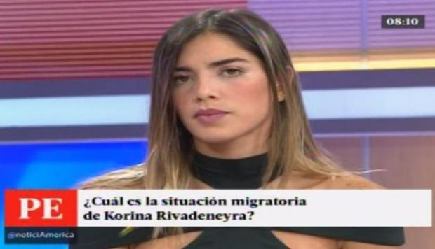 "Korina Rivadeneira a PPK: ""Por favor, analice mi caso"" [VIDEO]"