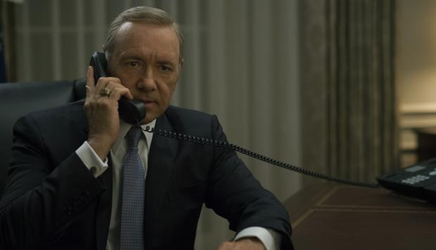 Personaje más importante de House of Cards escondido