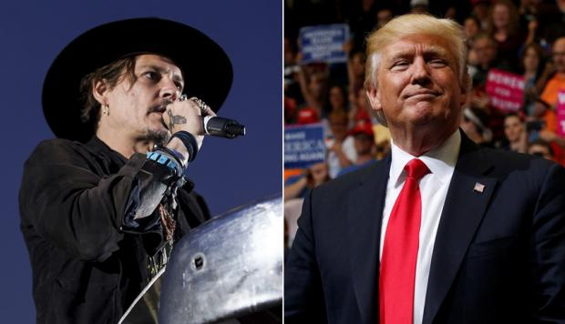 Johnny Depp habla de Donald Trump