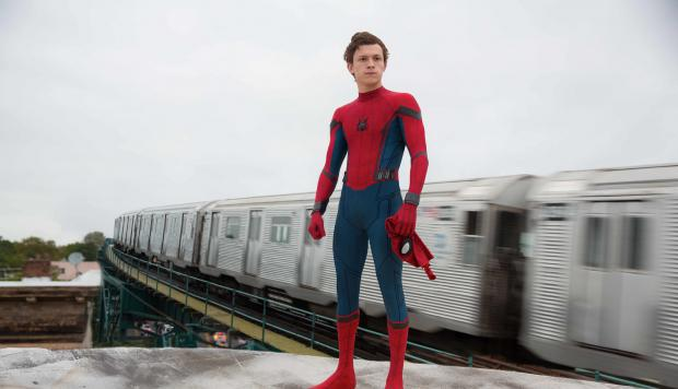 "Tom Holland en ""Spider-Man: Homecoming"""