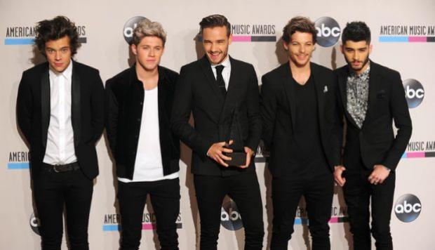 Twitter One Direction AFP