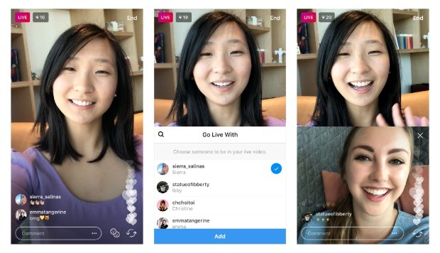 Instagram en vivo con invitado