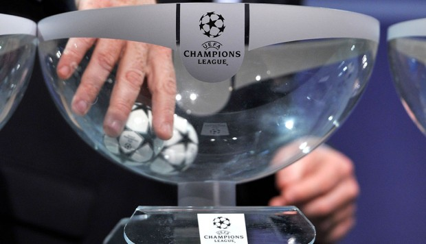 Develan grupos para la Champions League