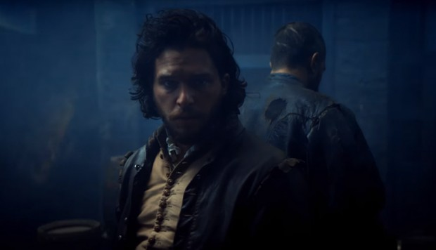 "Kit Harington en ""Gunpowder""."