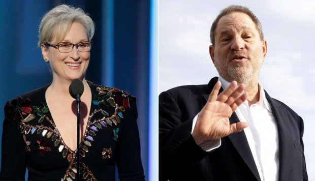 Meryl Streep y Harvey Weinsten