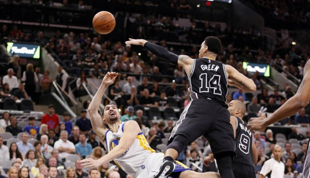 Golden State Warriors agudiza la mala racha de San Antonio Spurs