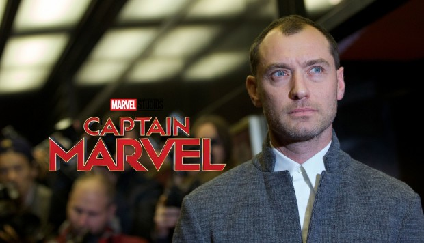 Jude Law podría integrarse a la cinta de Captain Marvel