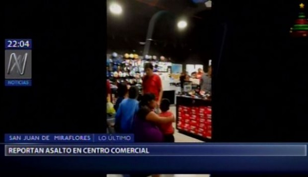 Incidente causa alarma en centro comercial — Mall del Sur