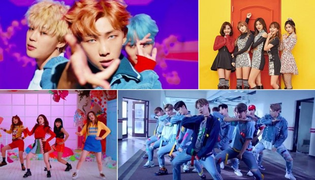 Youtube Estos Son Los 20 Videos De K Pop Mas Populares Del 2017