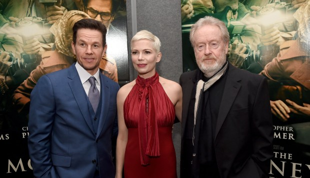 Mark Wahlberg y Michelle Williams