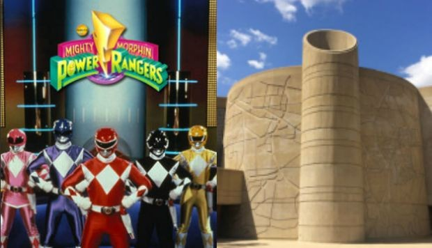 Los Power Rangers se reúnen en el Centro de Mando para planear su defensa del mundo. (Foto: Saban International / Google Maps)