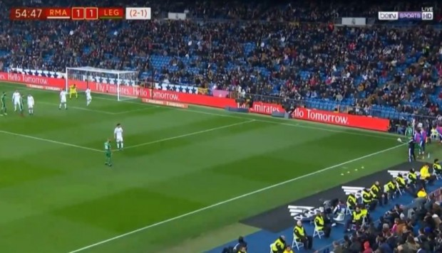 Real Madrid vs. Leganés: otro golazo que puse en jaque a merengues