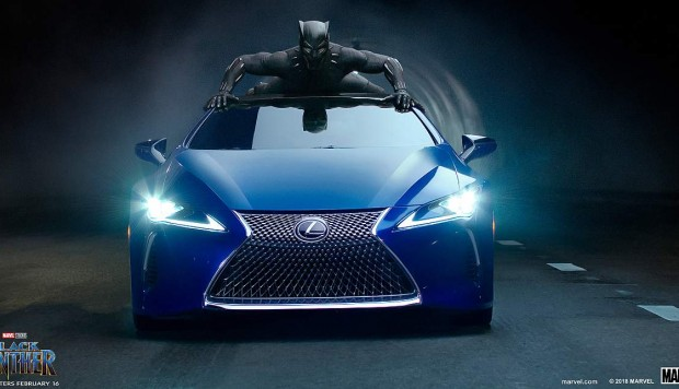 Lexus en Black Panther