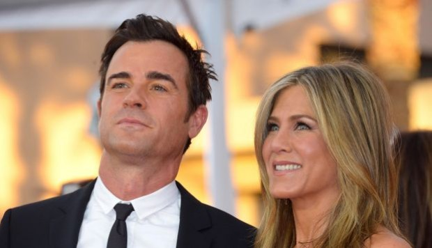 Jennifer Aniston y Justin Theroux. (Foto: Agencia)