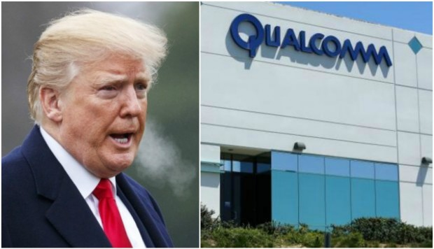 Trump impide que Broadcom compre Qualcomm