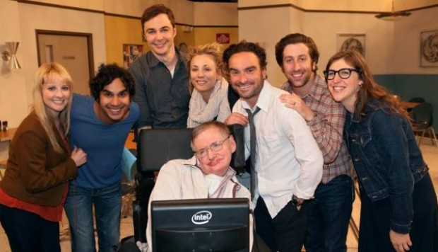 "Facebook: ""The Big Bang Theory"" agradeció así a Stephen Hawking"
