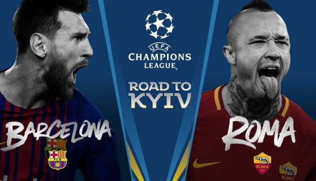 Image result for barcelona vs roma