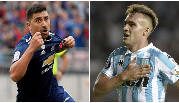 Universidad de Chile vs. Racing Club: partidazo en Santiago por Libertadores. (Foto: AFP)