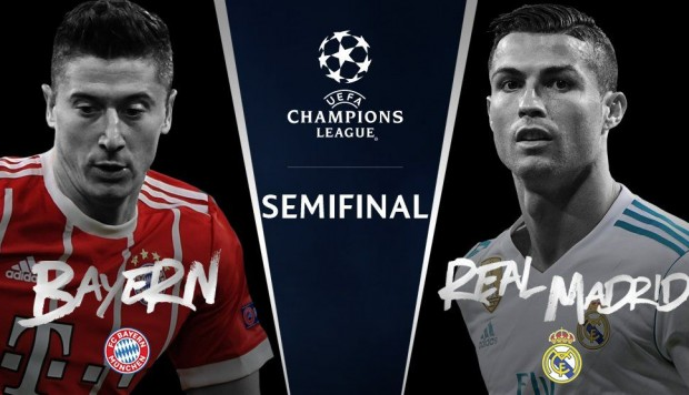 Image result for bayern vs real madrid 2018