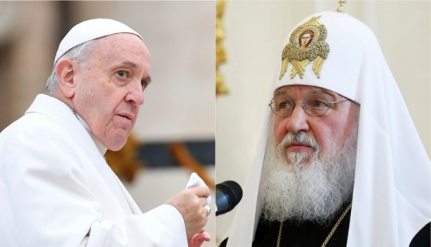 Papa Francisco y Kirill