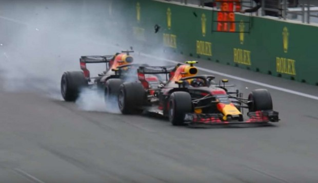 CHOQUE RED BULL F1