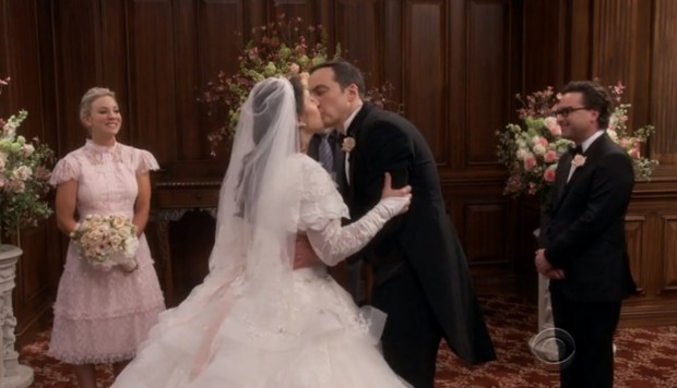 Boda de Amy y Sheldon